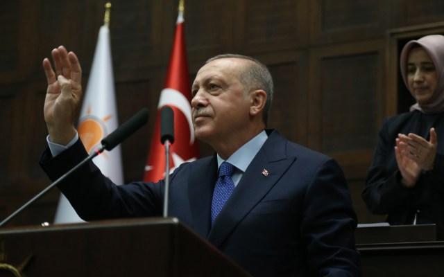 Erdogan acepta reunión con Pence y Pompeo - Presidente Recep Tayyip Erdogan de Turquía. Foto de EFE