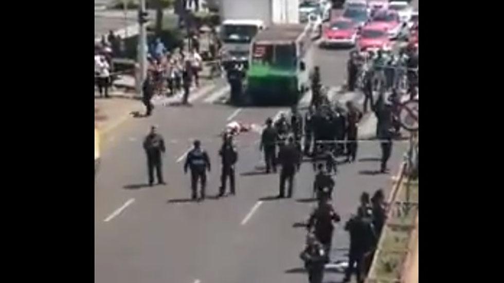 Presunto ladrón herido por policía. Captura de pantalla / MrElDiablo8