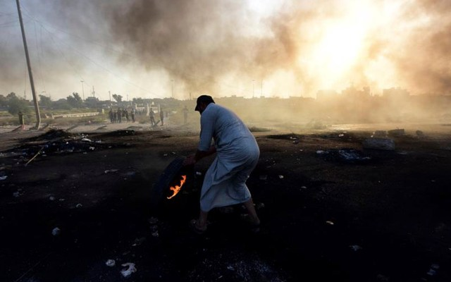 Suman 93 muertos y casi cuatro mil heridos por protestas en Irak - protestas irak