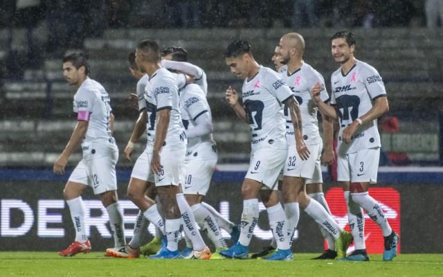Pumas aprovecha superioridad numérica y golea 5-1 al Atlas - Pumas Atlas partido Liga MX
