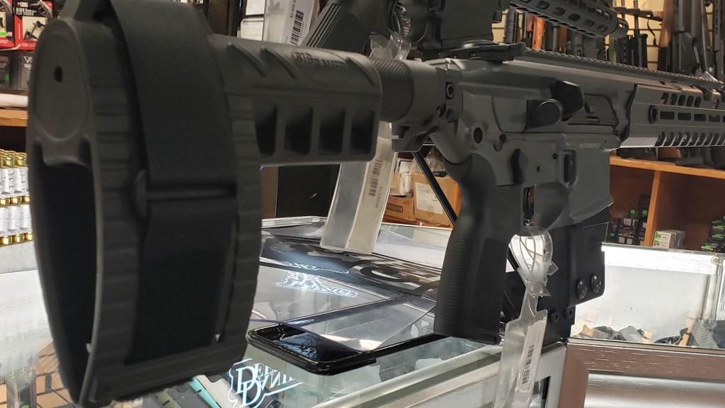 Rifle de asalto armas Estados Unidos armería