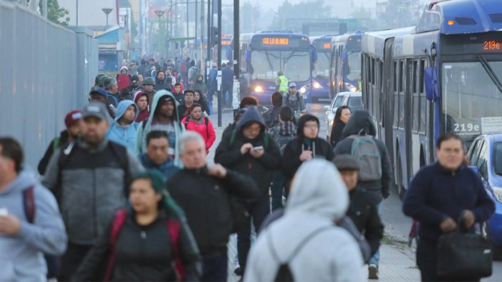 ONU pide a la sociedad chilena rechazar actos de violencia - Santiago de Chile