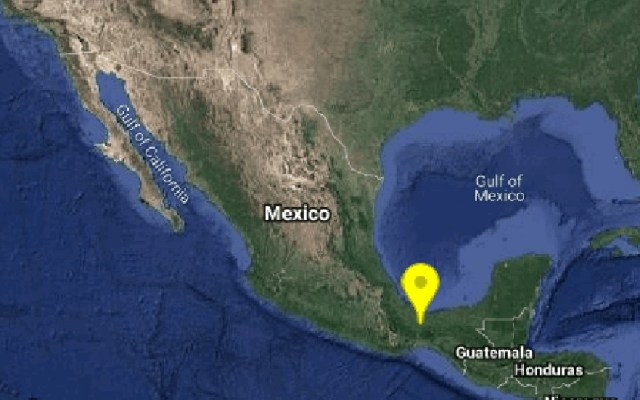 Sismos de 4.1 remecen a Chiapas, Guerrero y Veracruz - Sismo en Veracruz. Foto de @SismologicoMX