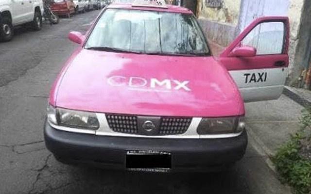 Drogan a secretario de diputada federal tras tomar un taxi en la Ciudad de México - Taxi Ciudad de México
