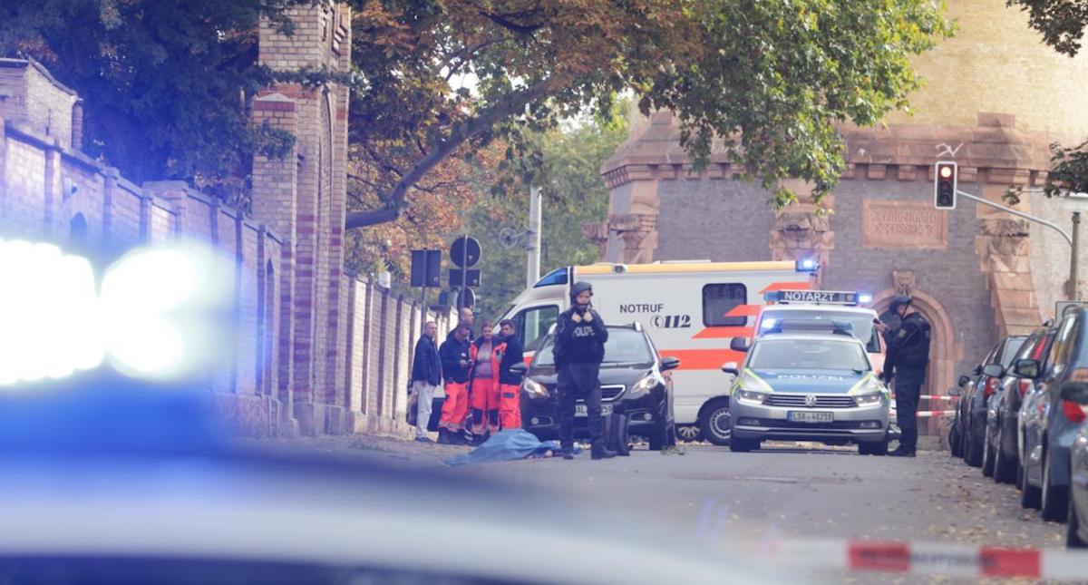 Dos muertos en un tiroteo en el este de Alemania