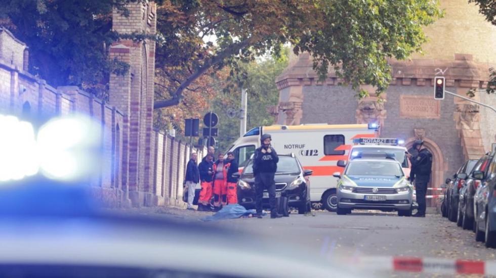 Tiroteo en Alemania deja dos muertos - Imágenes del tiroteo en Halle, Alemania. Foto: Steffen Schellhorn / Bild.