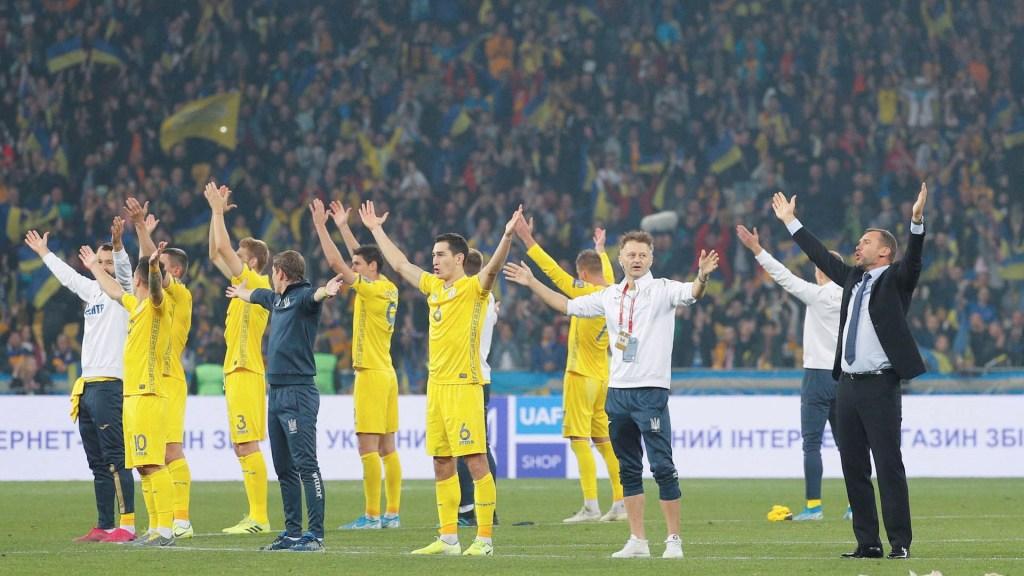 Ucrania derrota a Portugal y clasifica matemáticamente a la Euro 2020 - Ucrania Portugal Partido Euro