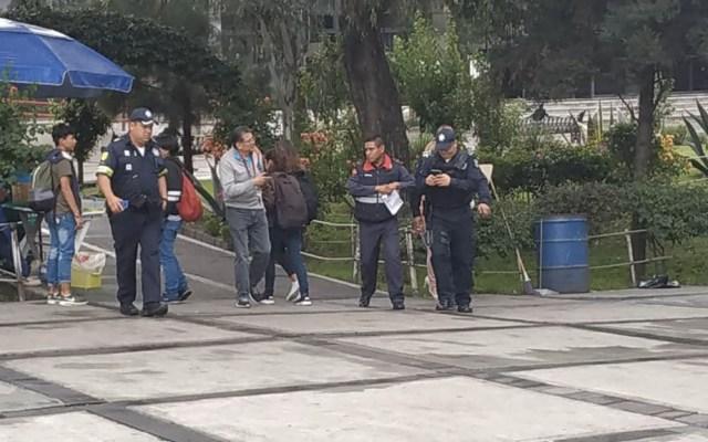 Falsa alerta de bomba en vocacional de Ecatepec provoca movilización - Foto de @PCB_Ecatepec