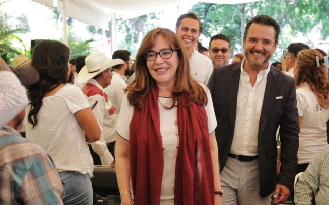 Yeidckol Polevnsky confirma suspensión de la elección interna de Morena - Foto de @AntonioLobito01