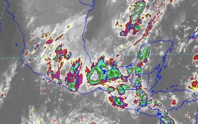 Cierran todos los puertos de Yucatán por tormenta Olga - Foto de @ClimaYucatan