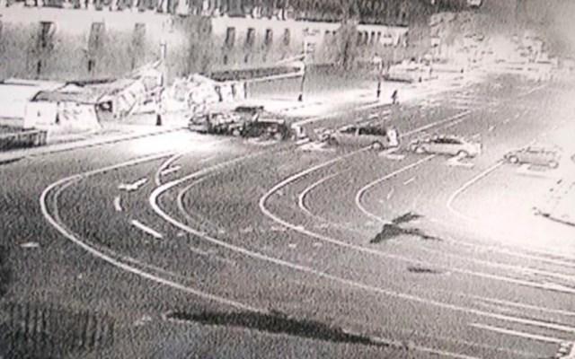 Cierran circuito del Zócalo por manifestantes y Zaragoza por carrera - zócalo manifestantes