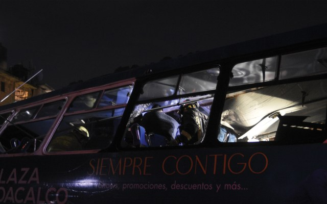Dan de alta a siete lesionados de choque en la México-Pachuca - Foto de Notimex