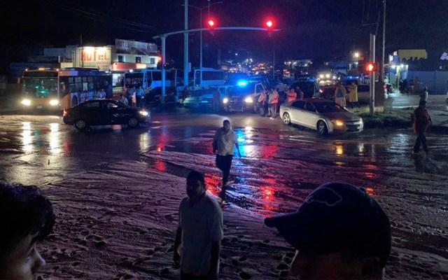 Raymond deja afectaciones en Baja California Sur - Raymond deja afectaciones en Baja California Sur