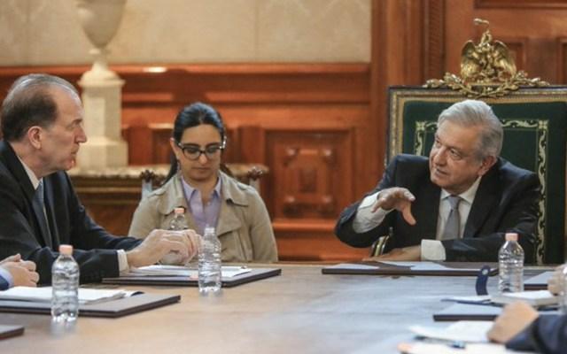 López Obrador y presidente del Banco Mundial acuerdan trabajar en proyectos de desarrollo - Foto de Twitter Andrés Manuel López Obrador