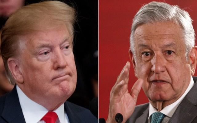 Reunión Trump-AMLO será el miércoles 8 de julio: informa Marcelo Ebrard - Composición de EFE.