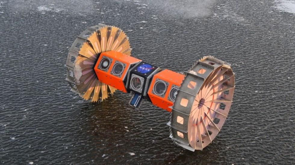 NASA probará robot en Antártida con miras a buscar vida extraterrestre - Antártida robot NASA