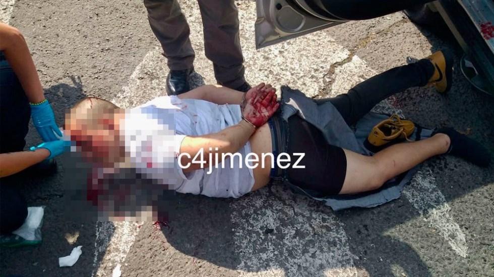 Detienen a dos presuntos participantes de intento de asalto en Lindavista - asaltantes lindavista