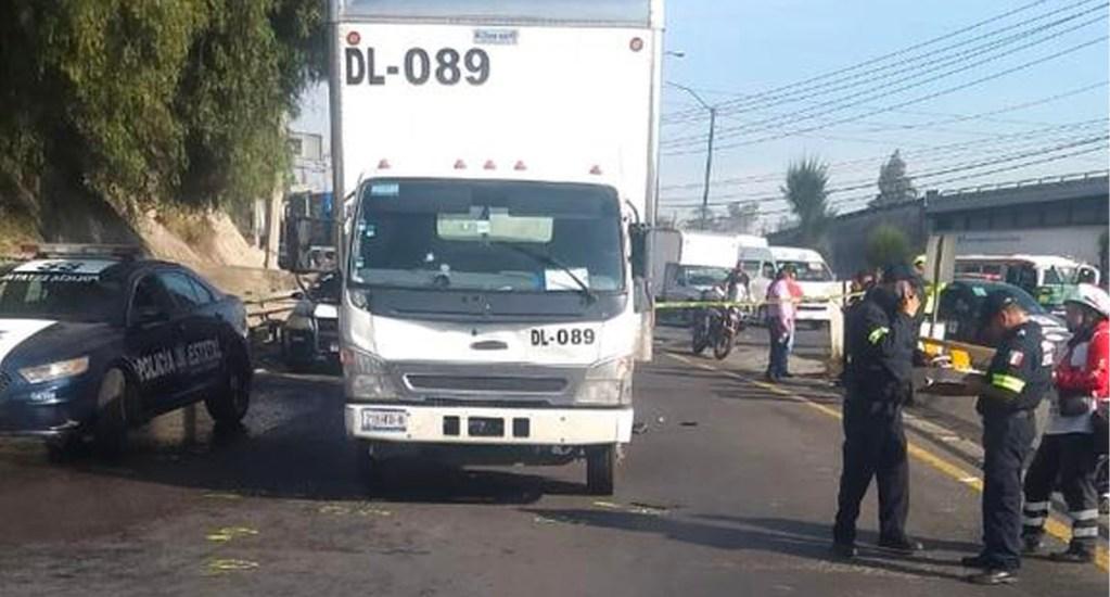 Intento de asalto a camión repartidor deja un custodio muerto en la México-Querétaro - Asalto a camión repartidor