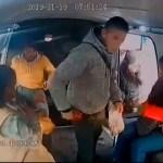 #Video 'No chille', pide delincuente a niña durante asalto en combi