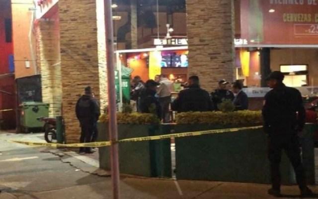 Policía frustra asalto en restaurante de Coapa y hiere a ladrón - Asalto en restaurante de Coyoacán. Foto de Excélsior
