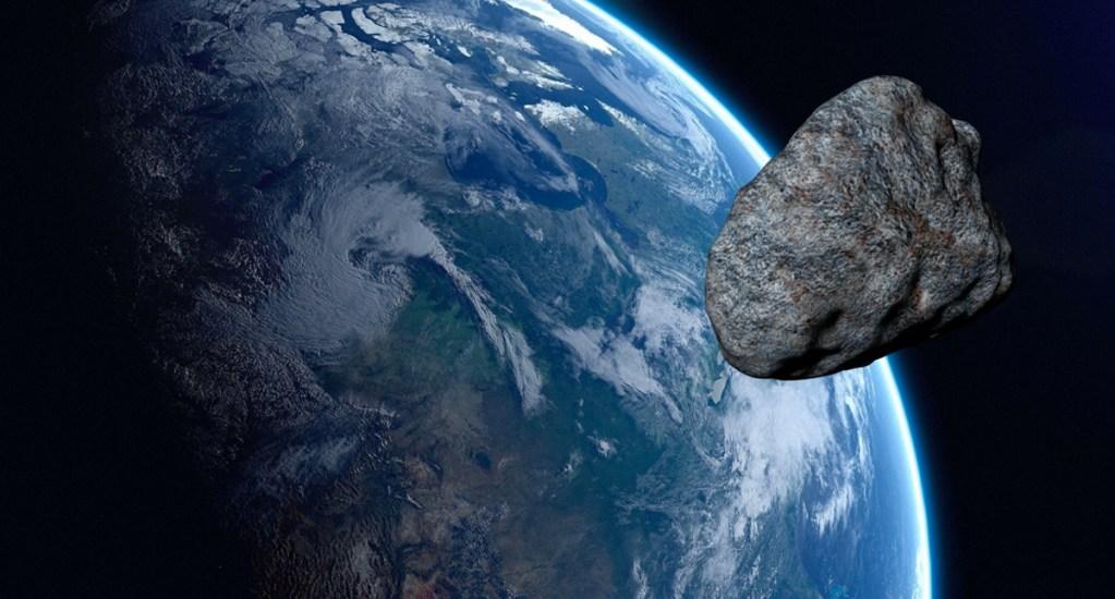 Un pequeño asteroide pasó cerca de la Tierra el 31 de octubre - Esteroide pasa cerca de la tierra.
