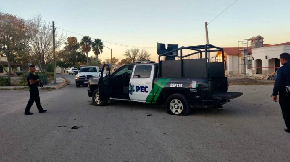 Desconoce alcaldesa de Villa Unión, Coahuila, qué provocó violencia el fin de semana - Foto de EFE