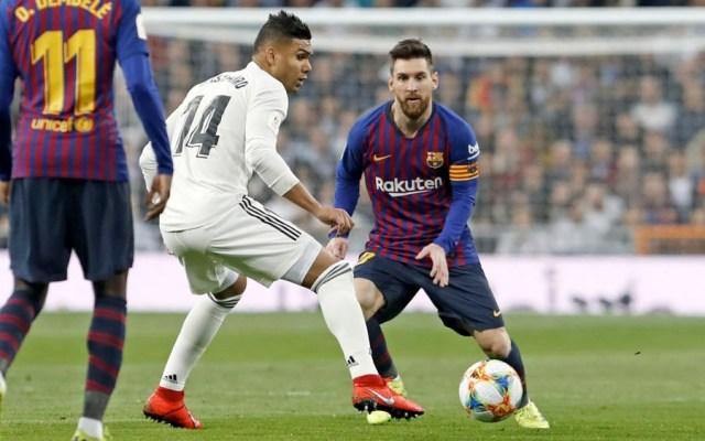 Confirman fecha y hora de El Clásico Barcelona vs Real Madrid - Barcelona vs Real Madrid