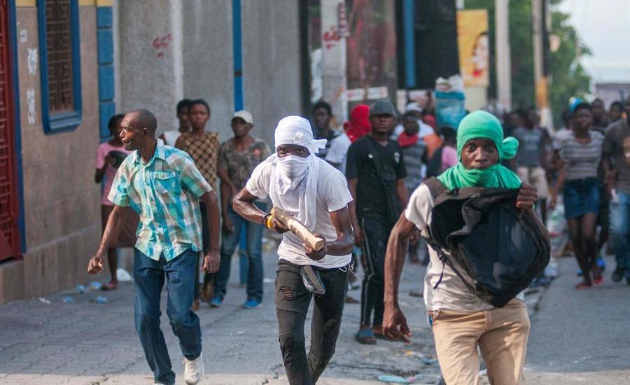 Haití, en una crisis sin precedentes - Foto de EFE