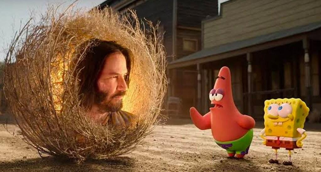 Primer tráiler de la película 'Bob Esponja: Al Rescate' con Keanu Reeves - Bob Esponja: Al Rescate