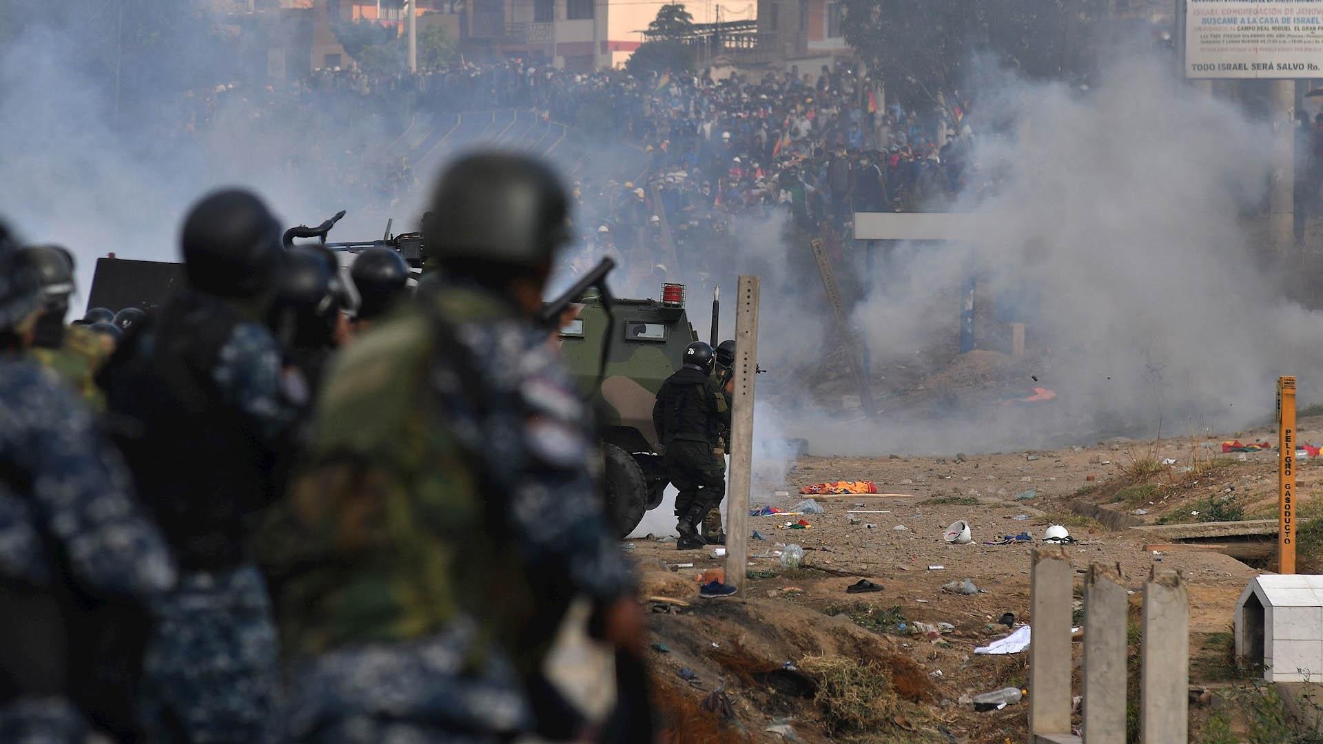 Ascienden a nueve los muertos por los enfrentamientos en Cochabamba