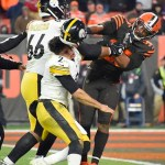 #Video La agresión de Miles Garrett (Browns) a Mason Rudolph (Steelers)