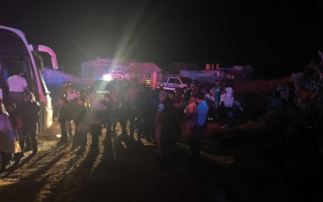 Localizan camión desaparecido con migrantes en Veracruz - Foto de @HGutierrez_M