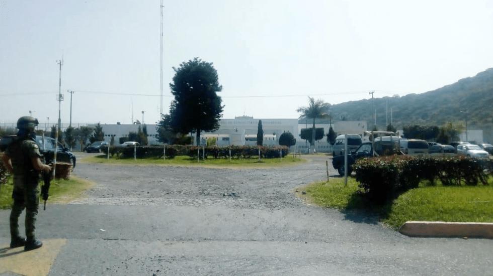 Riña en penal federal de Ciudad Ayala, Morelos, deja un muerto - Ceferepsi de Ciudad Ayala Morelos. Foto Especial.