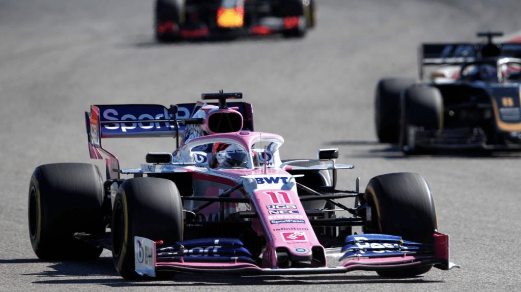 Racing Point descarta a Vettel y mantiene confianza en 'Checo' Pérez - checo pérez