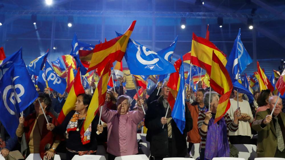 Candidatos a gobernar España apelan al miedo en cierre de campaña - Foto de EFE
