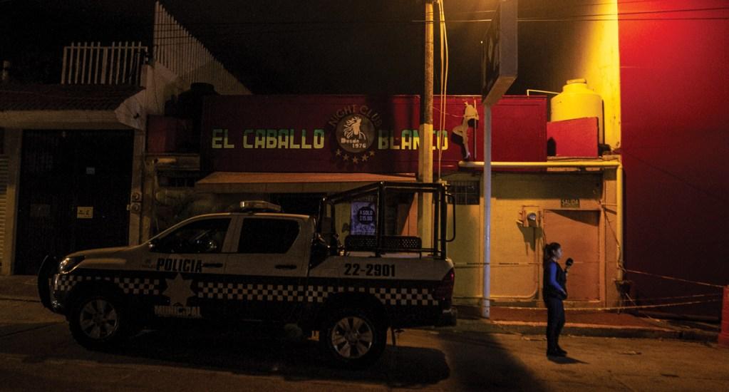 Primer año de gobierno de Cuitláhuac García estuvo marcado por masacres - Foto de Notimex