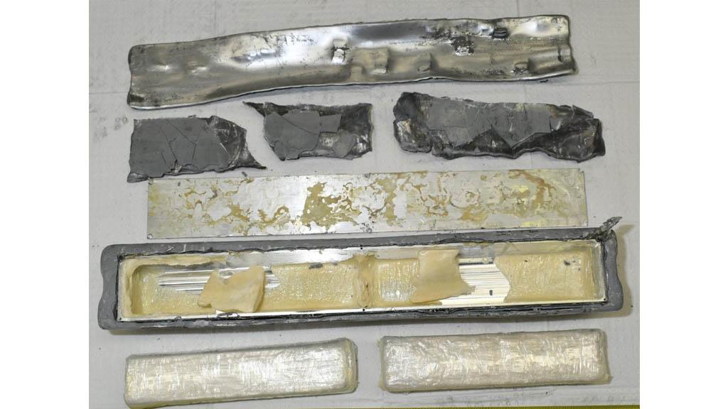 Cocaína australia incautada lingotes