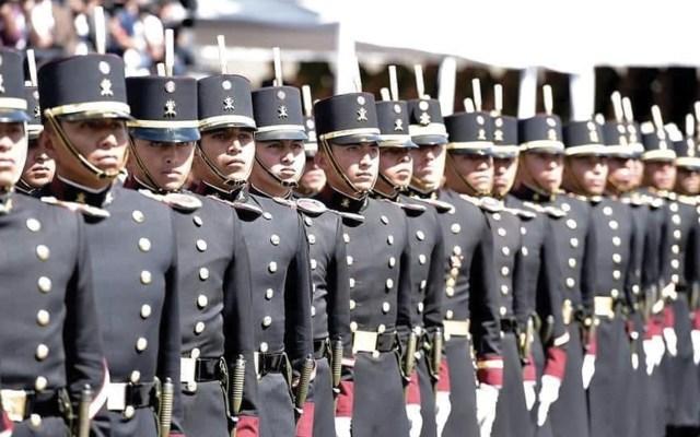 Director del Colegio Militar llama a soldados a comportarse con disciplina y lealtad - Foto de Twitter Heroico Colegio Militar