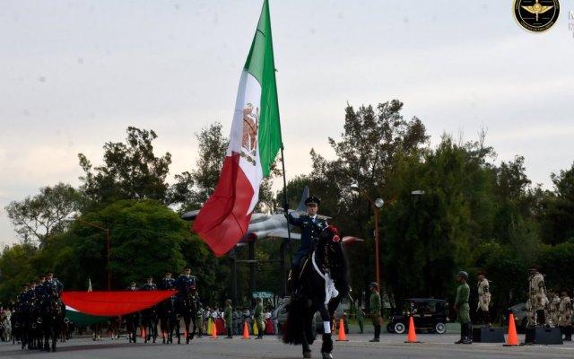 Afinan actividades por desfile de la Revolución Mexicana en el Zócalo - Foto de @SEDENAmx