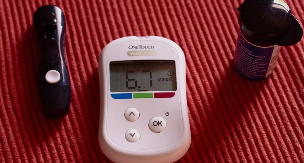 Proponen fórmula matemática para evaluar riesgo de diabetes en niños - Medidor de azúcar en la sangre