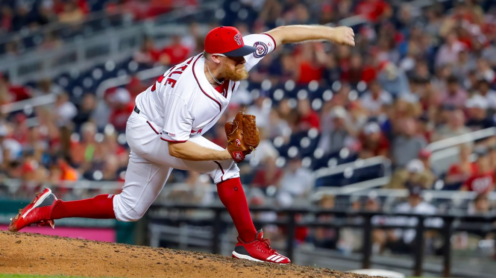 Doolittle de los Nacionales de Washington declina acudir a la Casa Blanca - Doolittle Washington Nationals