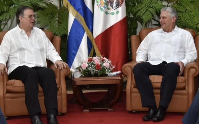 México inició una nueva etapa en su relación con Cuba: Ebrard - Foto de @BrunoRguezP