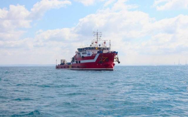 Asaltan barco italiano en Golfo de México - Embarcación asaltada por piratas en el Golfo de México. Foto de Micoperi