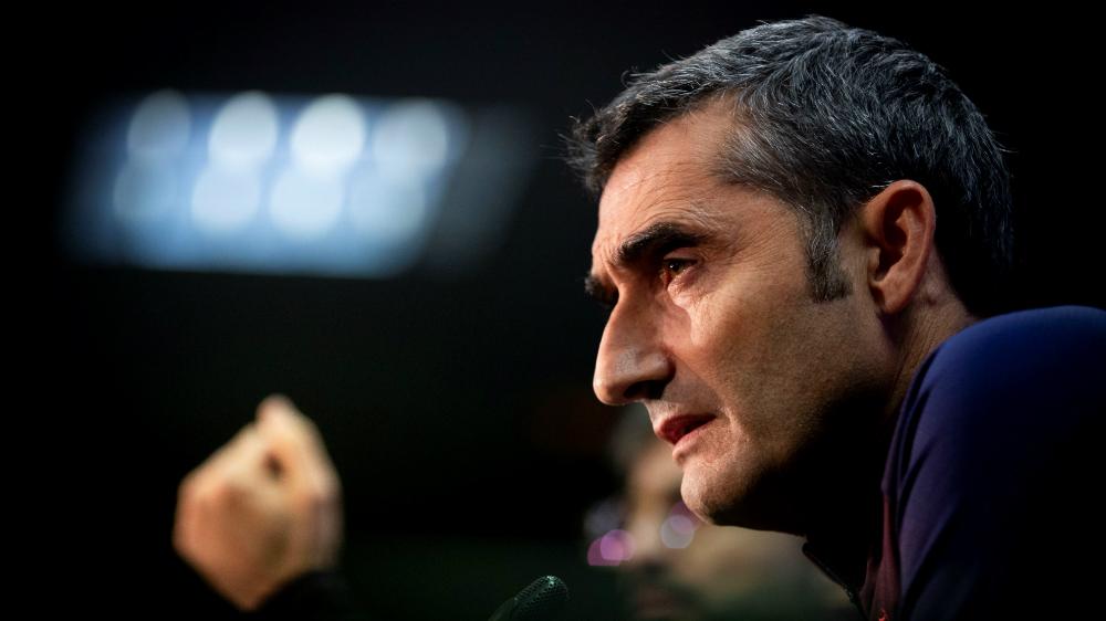Ernesto Valverde se siente respaldado por directiva de Barcelona - Foto de EFE
