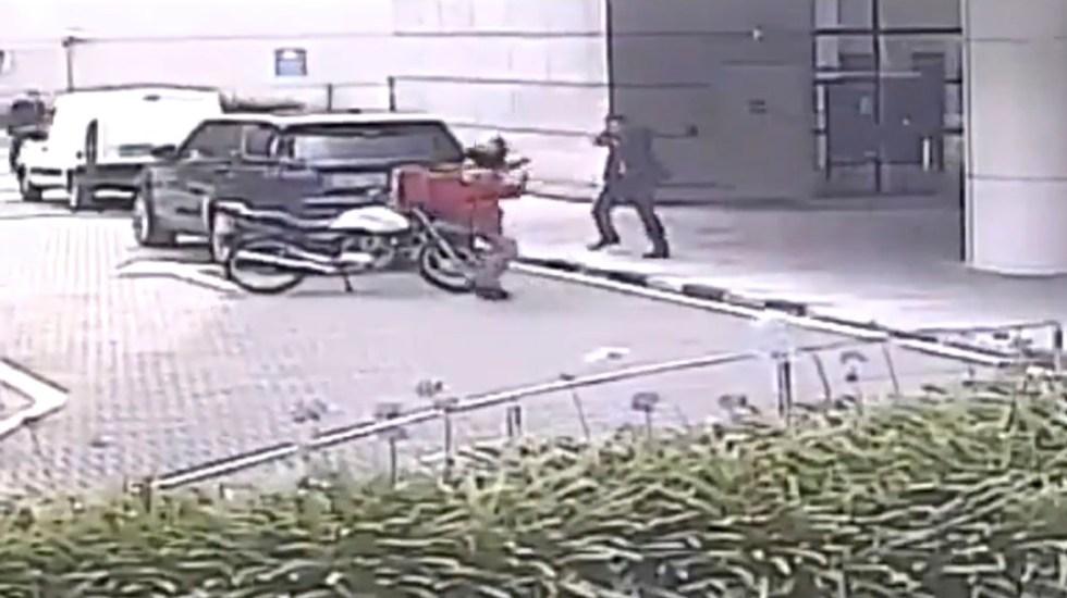 #Video Escolta impide asalto a mujer en Santa Fe - escolta asalto santa fe