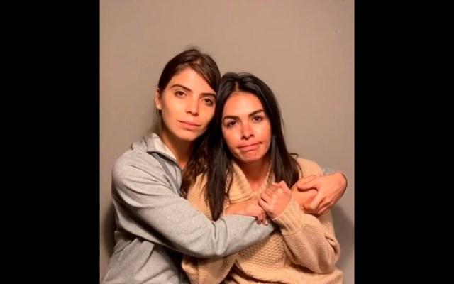 #Video Esmeralda Ugalde confirma secuestro de Alejandro Sandí en el Nevado de Toluca - Esmeralda Ugalde y Vanessa Arias. Captura de pantalla