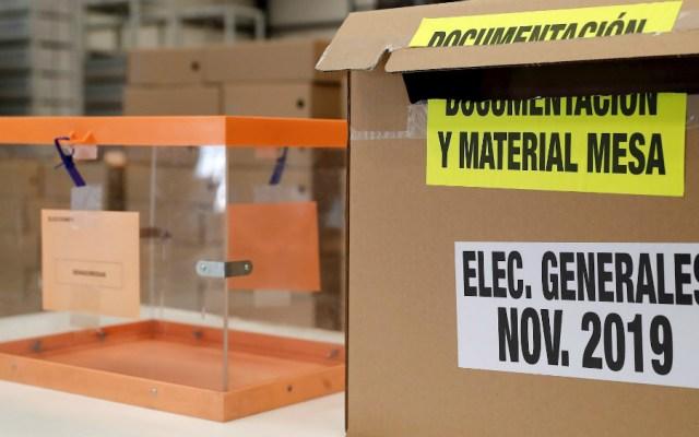 Grandes partidos españoles, a por el voto útil contra el bloqueo político - Foto de EFE