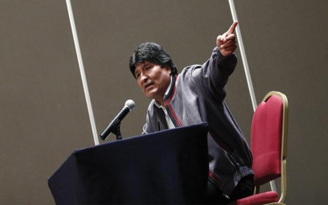 Bolivia presenta protesta formal contra México por supuesta conspiración de Evo Morales - Foto de EFE