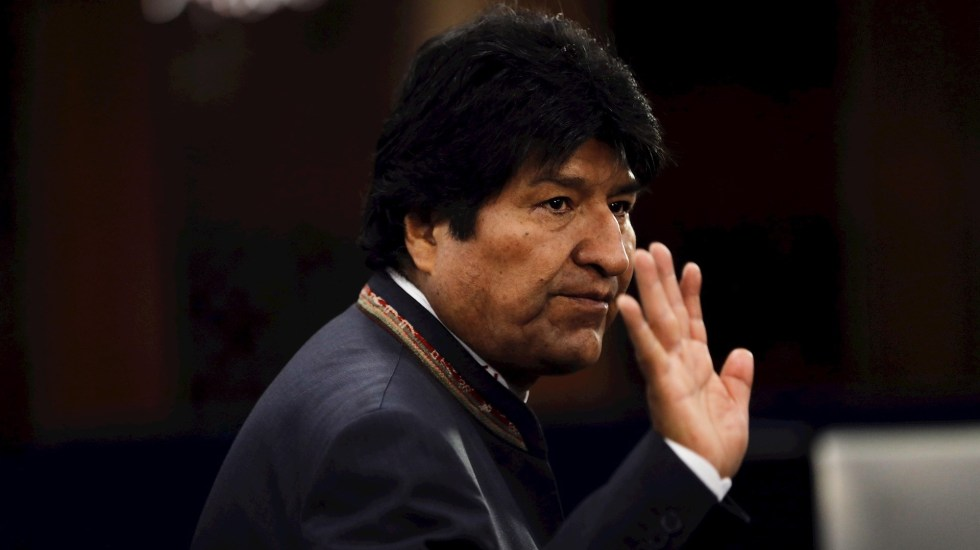 Evo Morales llegará a México aproximadamente a las 11:00 h, confirma el canciller Ebrard - Evo Morales, dimisionario presidente de Bolivia. (Foto de EFE/EPA/PETER FOLEY/Archivo)
