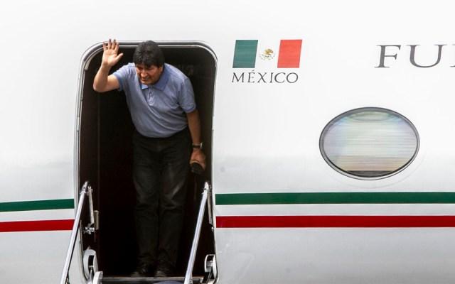 Ciudad de México es ciudad refugio: Sheinbaum tras llegada de Evo Morales - evo morales aicm